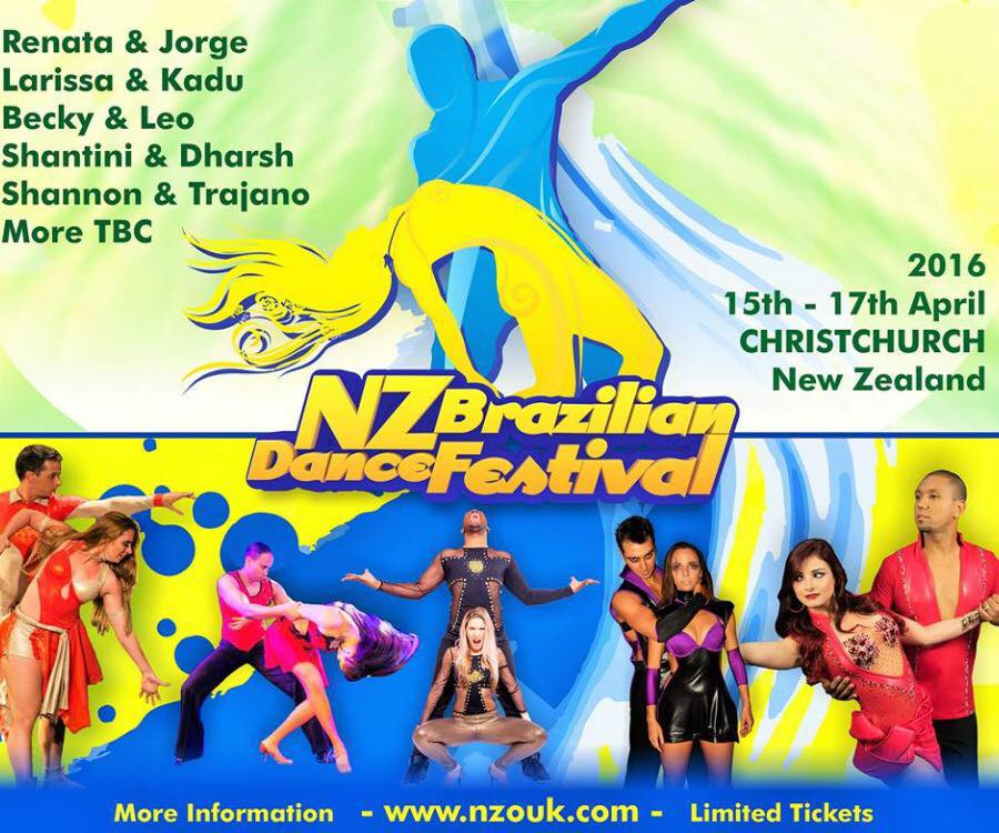 NZ Brazilian Dance Festival 2016