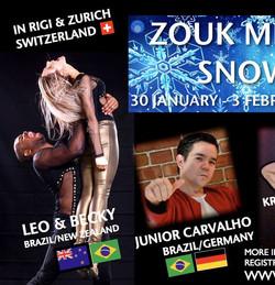 Zouk Meets Snow - Switzerland