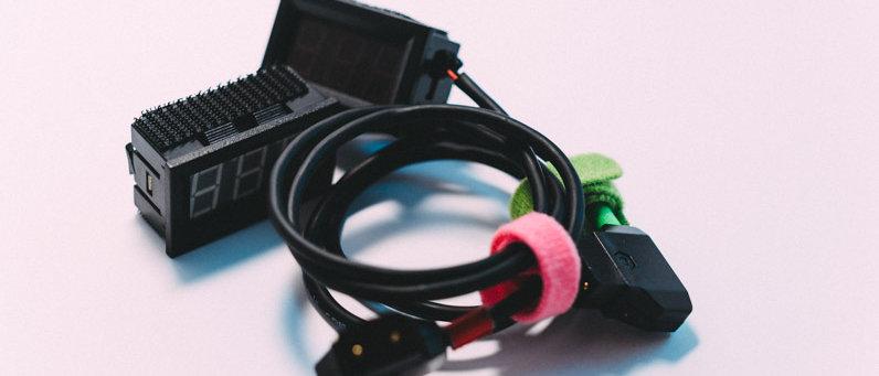 D-Tap Voltage Meters