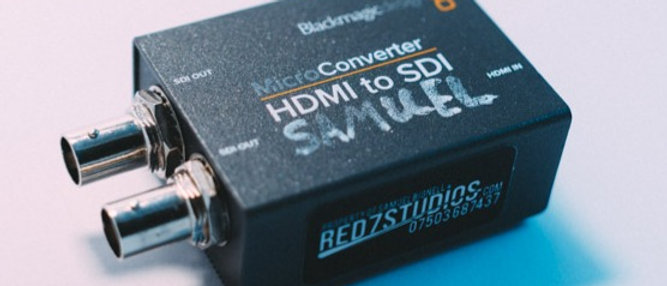 Black Magic HDMI to SDI Conveter