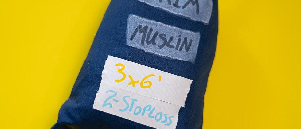 Scrim Unbleached Muslin 6.5x3