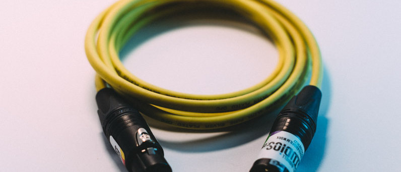 3-Pin XLR to 3-Pin XLR (Yellow)