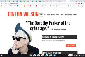 Cintra WIlson Website