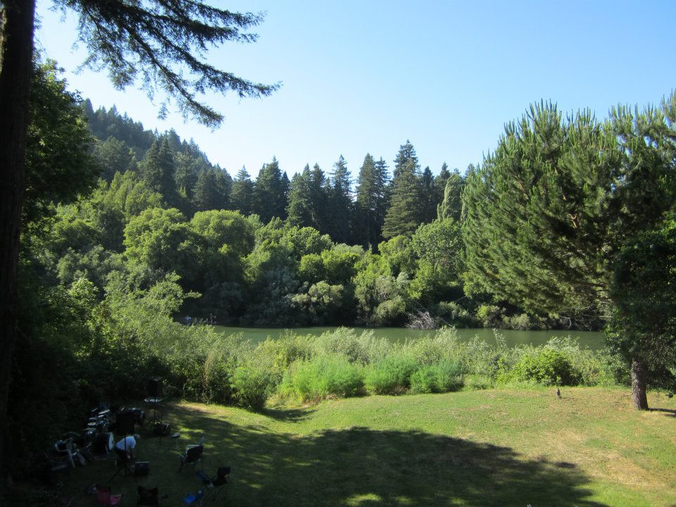 My Backyard on the Russian River