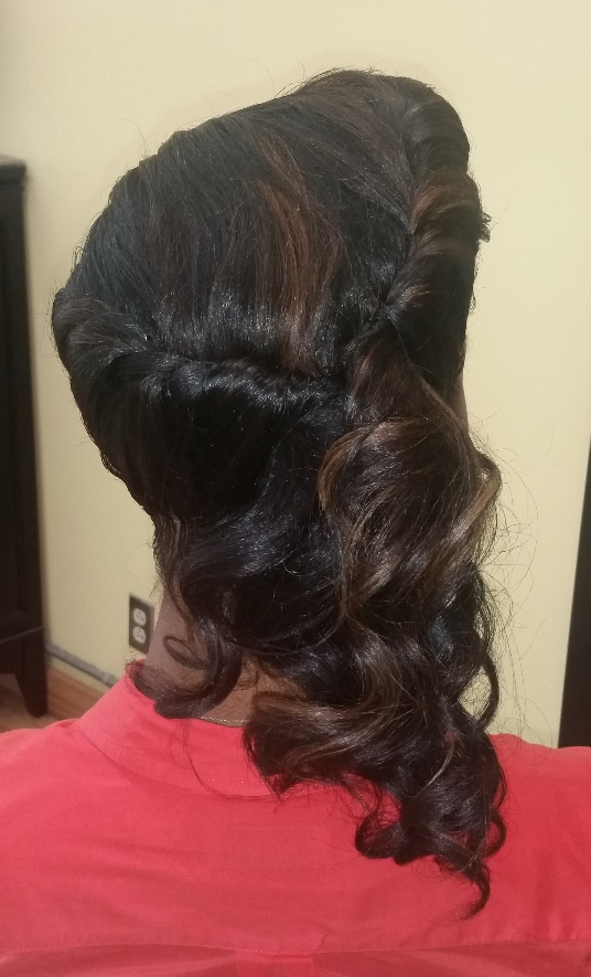 Side Swept Pin-up