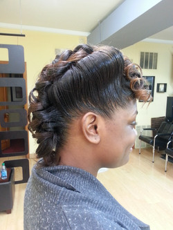 Vintage Curls w/Pin-up