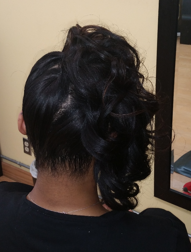 Curly Pin-Over