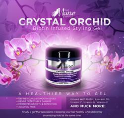 Crystal Orchid Biotin Infused Gel