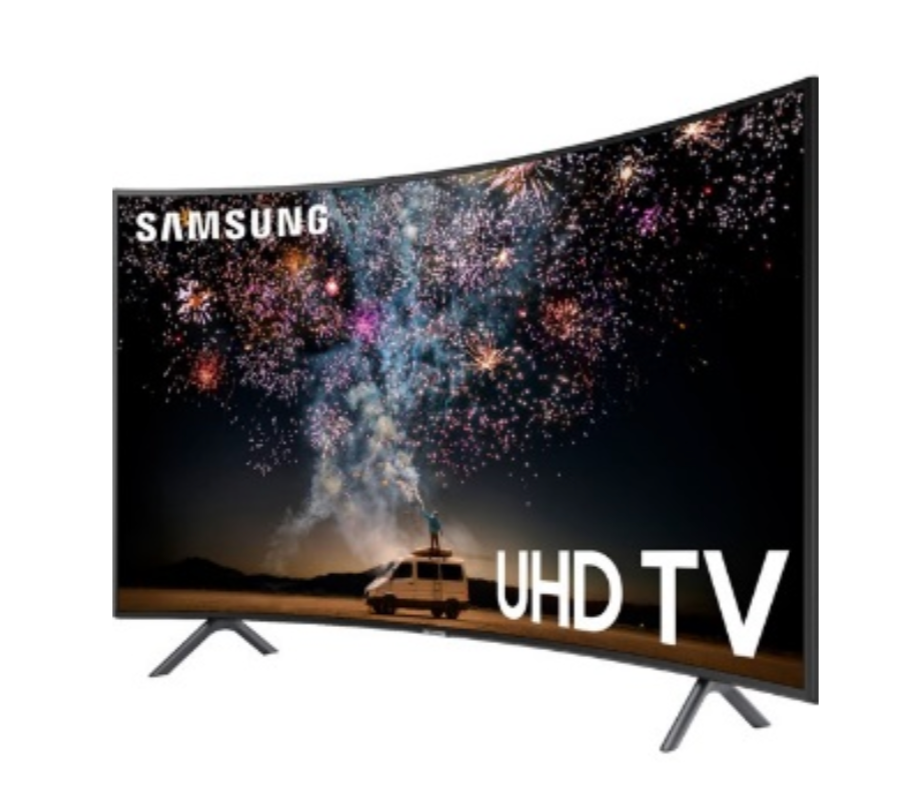 """Samsung – 55"""" Curved Class LED"""
