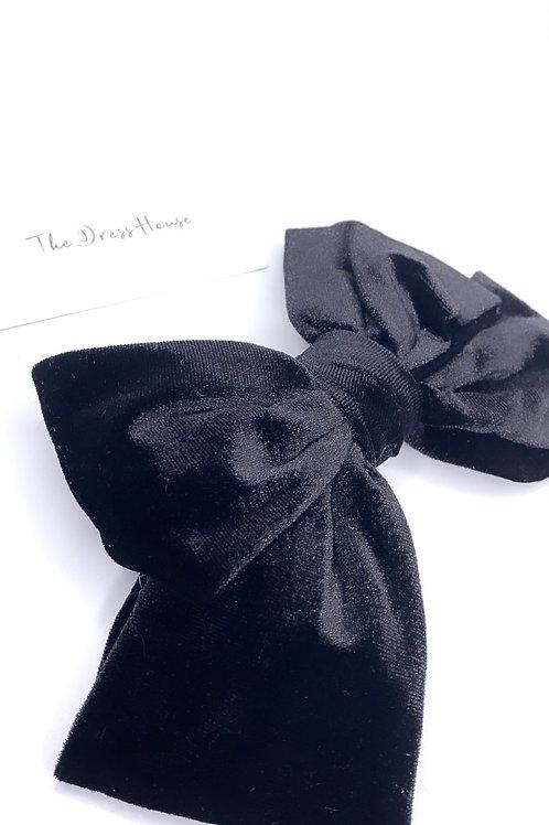 Pippa velvet black