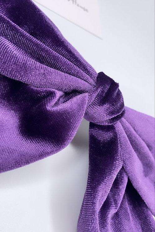 Pippa purple (velvet)
