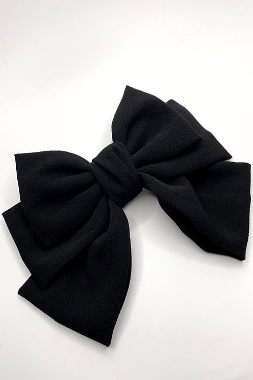 Pippa bow black