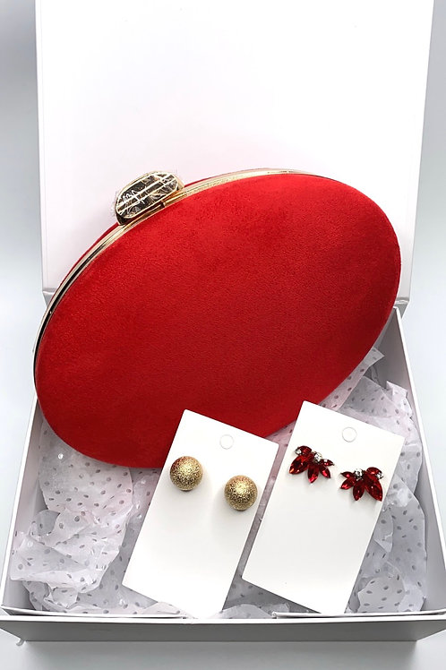 Cleo red gift set