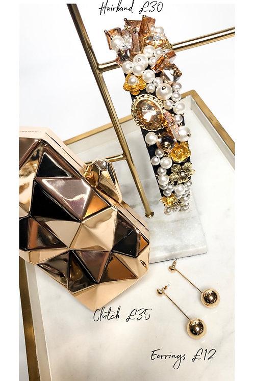 Gold trio gift set