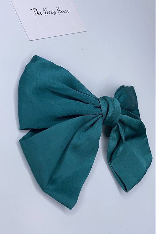Pippa bow teal