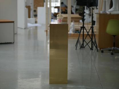 作品としての展示台