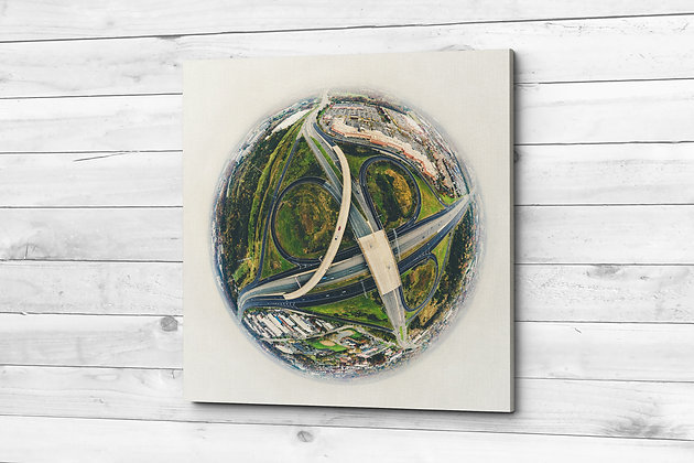Highway Intersection | Birds-Eye-View