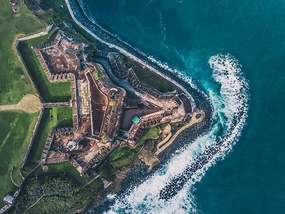 El Morro From Above | Old San Juan, Puerto Rico