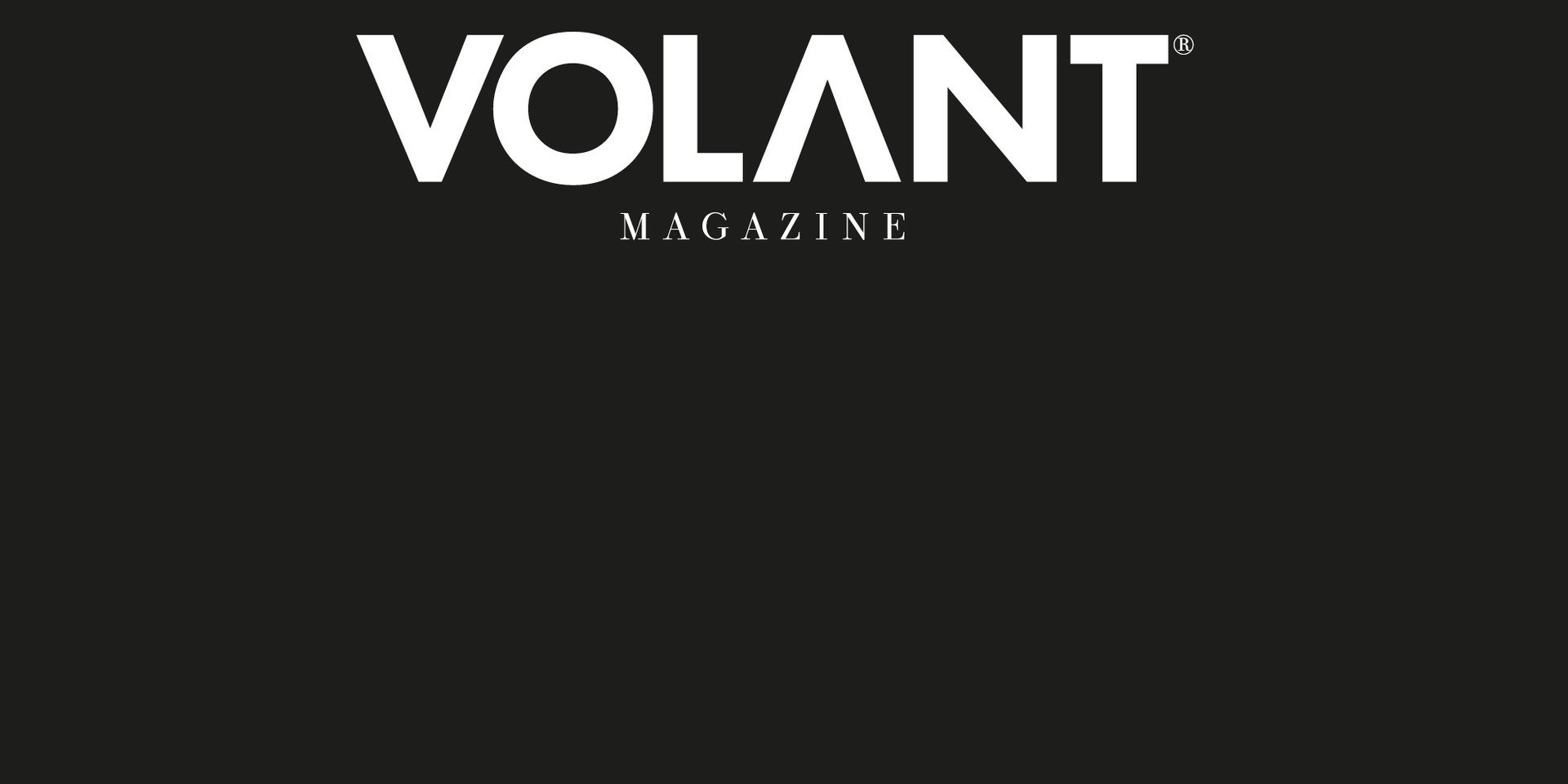 VOLANT No.11 Fall 2018