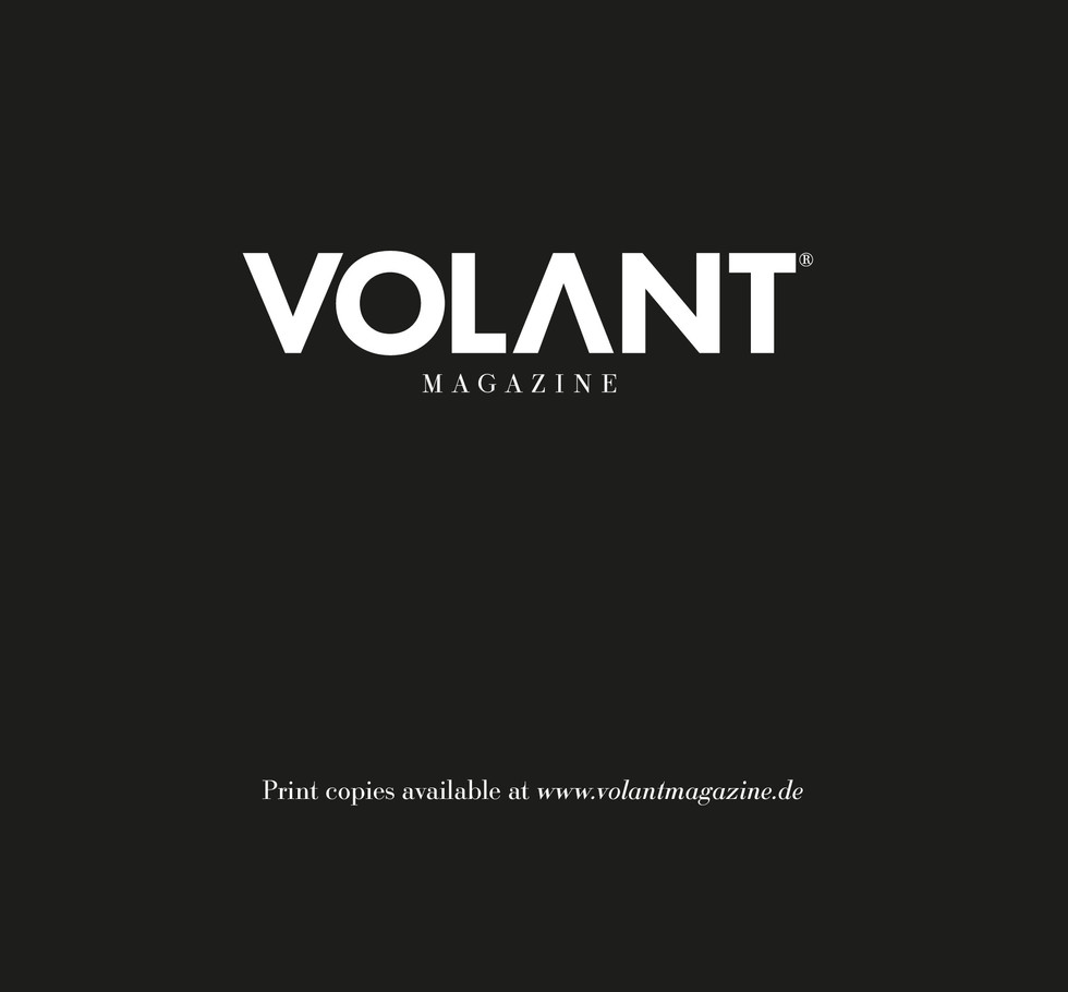 VOLANT No.11 Fall 2018