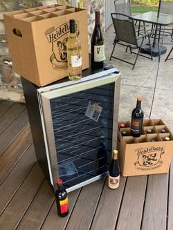 #78 - STOCKED WINE FRIDGE (22 bottles)