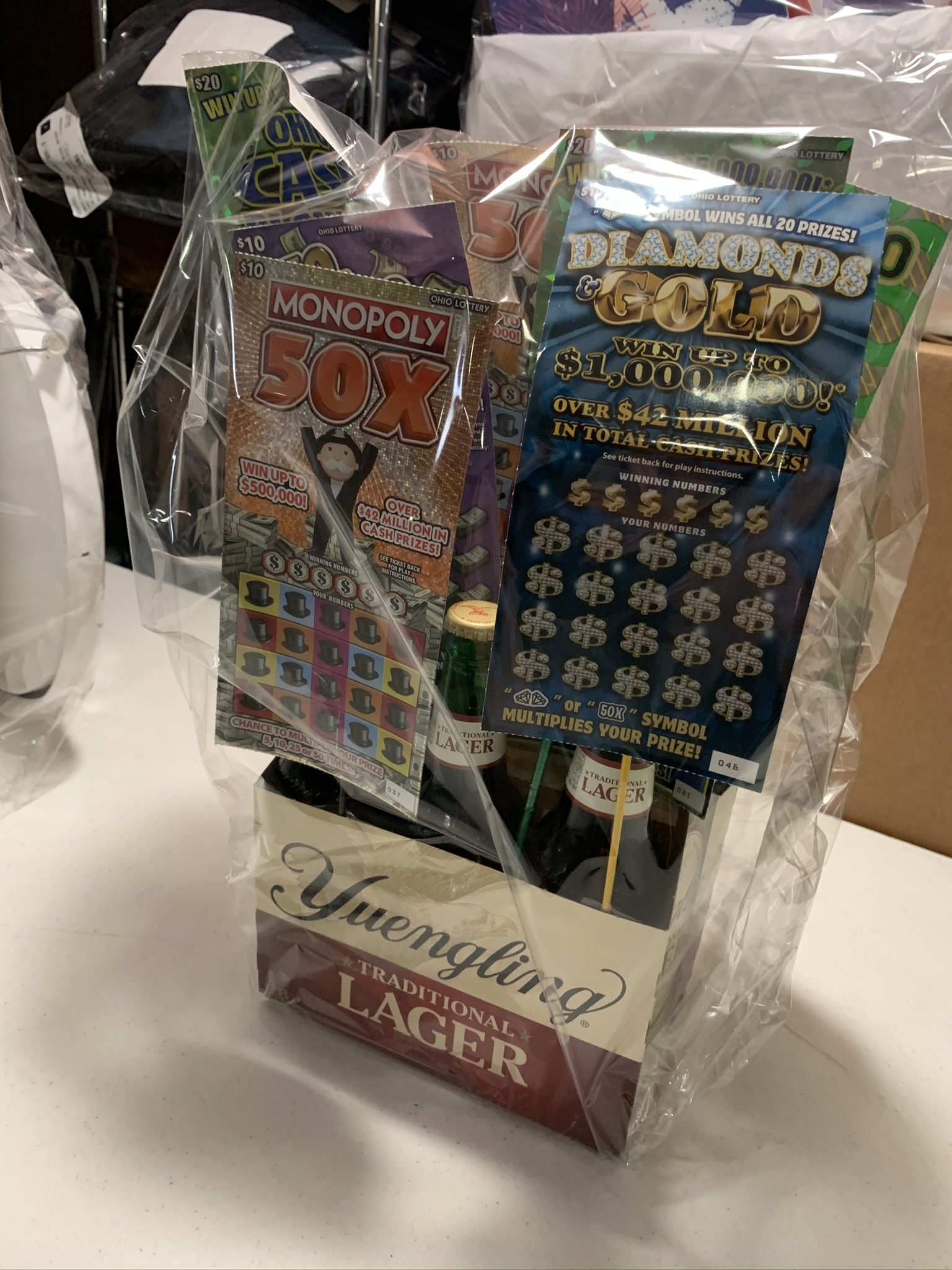 #55 - LOTTERY TICKETS