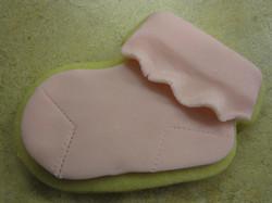 Baby Sock Cookie