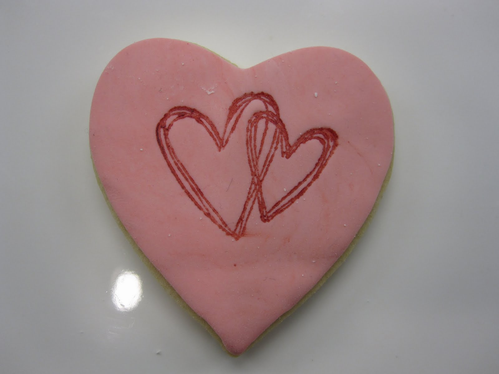 Double Heart Cookie