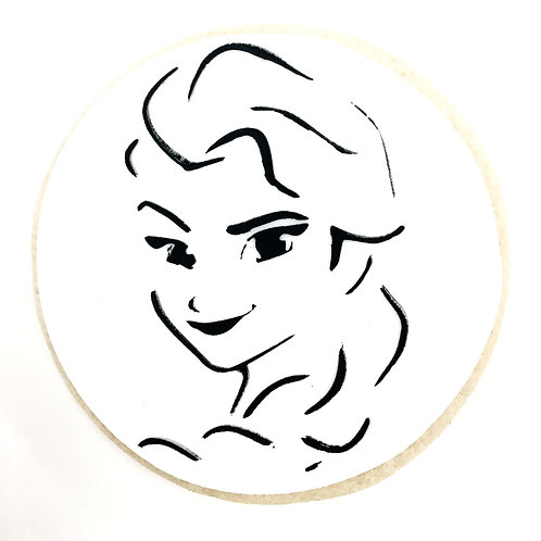 Elsa (Frozen) Paint Your Own Cookie