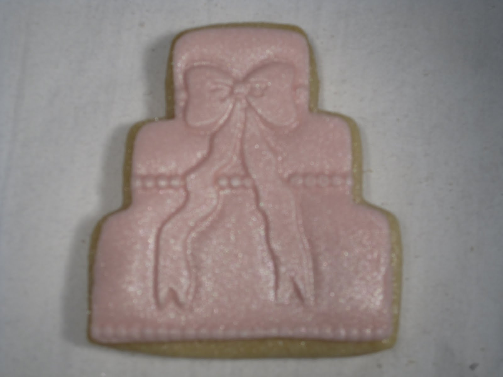 mini pink cake