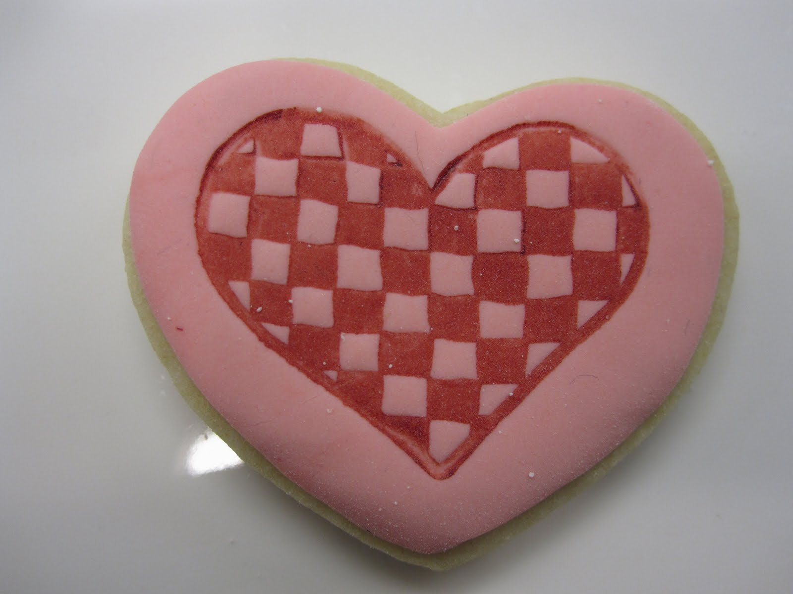 Checkered Heart