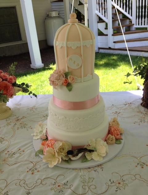 Mikaela's Wedding cake