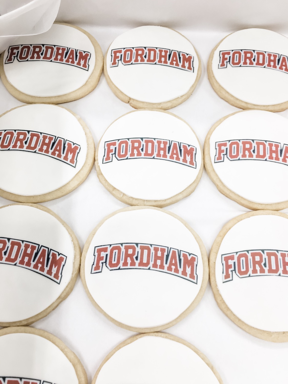 Fordham University Cookies