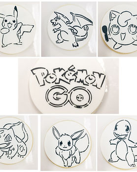 Pokemon Paint Your Own Cookies