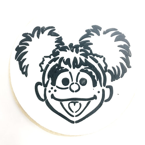 Abby (Sesame Street) Paint Your Own Cookie