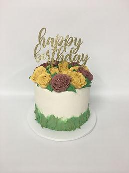 Custom Buttercream Birthday Cakes Newtown Connecticut