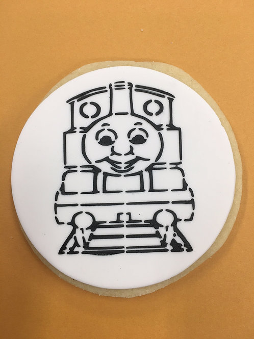 Thomas The Tank Engine Paint Your Own Cookie Kit (Single Cookie