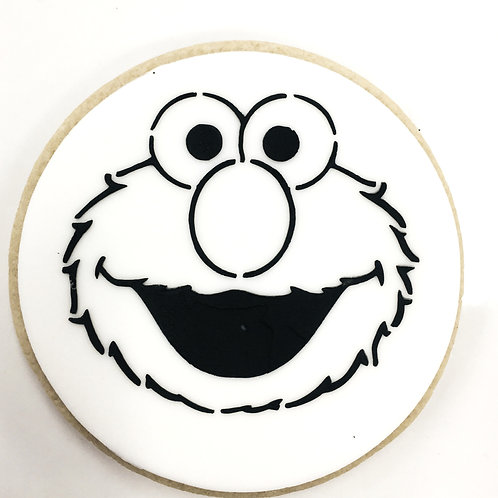 Elmo Paint Your Own Cookie