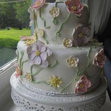 Edwards wedding cake