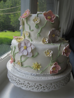 Edwards wedding cake
