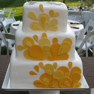 Callie wedding cake