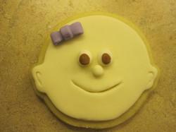 baby sugar cookie
