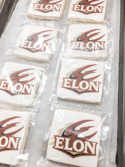 College Logo Cookie