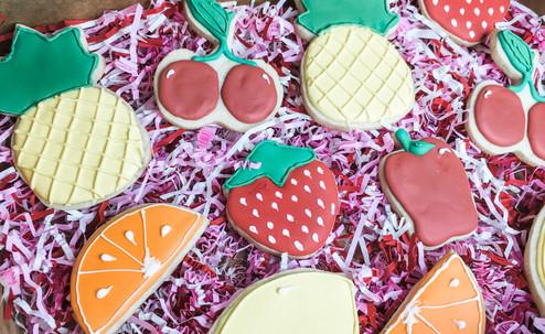 Fruit Sugar Cookies, Custom Cookies, New