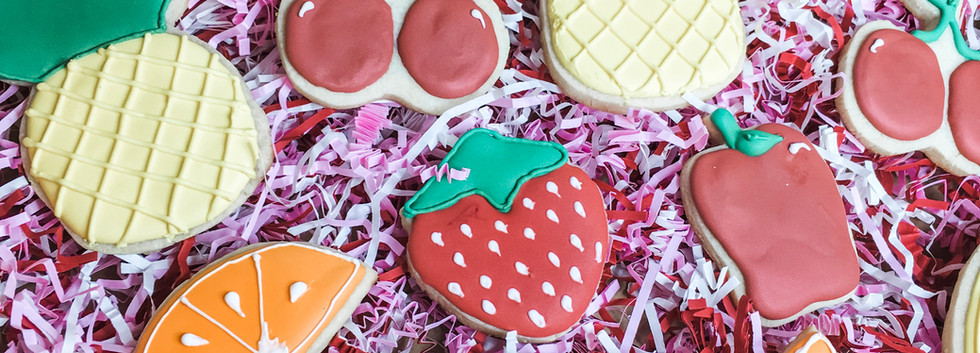 Fruit Sugar Cookies, Custom Cookies, New