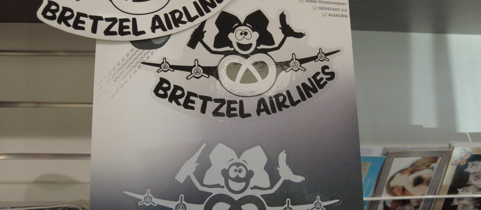 Bretzel Airlines - La marque Alsacienne de T-shirts et de Cadeaux