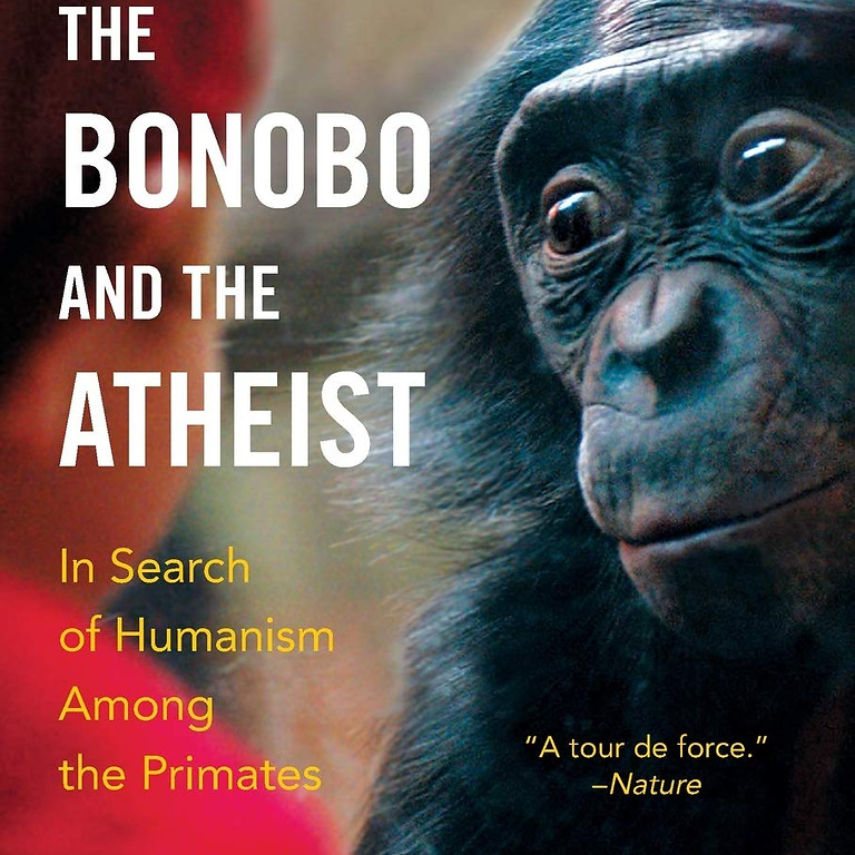 Happy Readers Book Club - The Bonobo and the Atheist by Frans De Waal