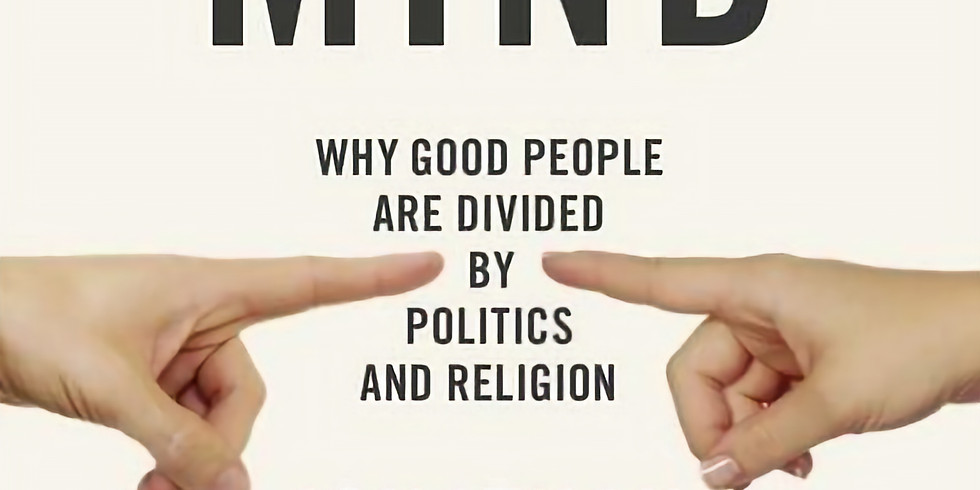 Happy Readers Book Club: The Righteous Mind by Jonathan Haidt