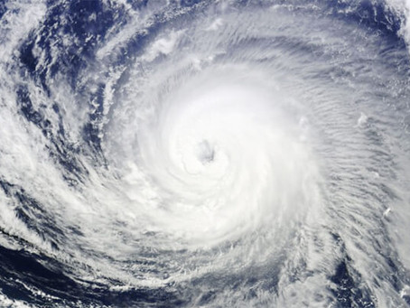 台風に注意してください!