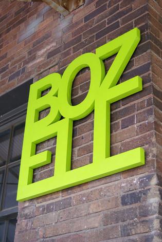 Bozell Logo Design for Building
